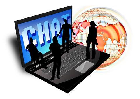 Computador, Chat e Globo