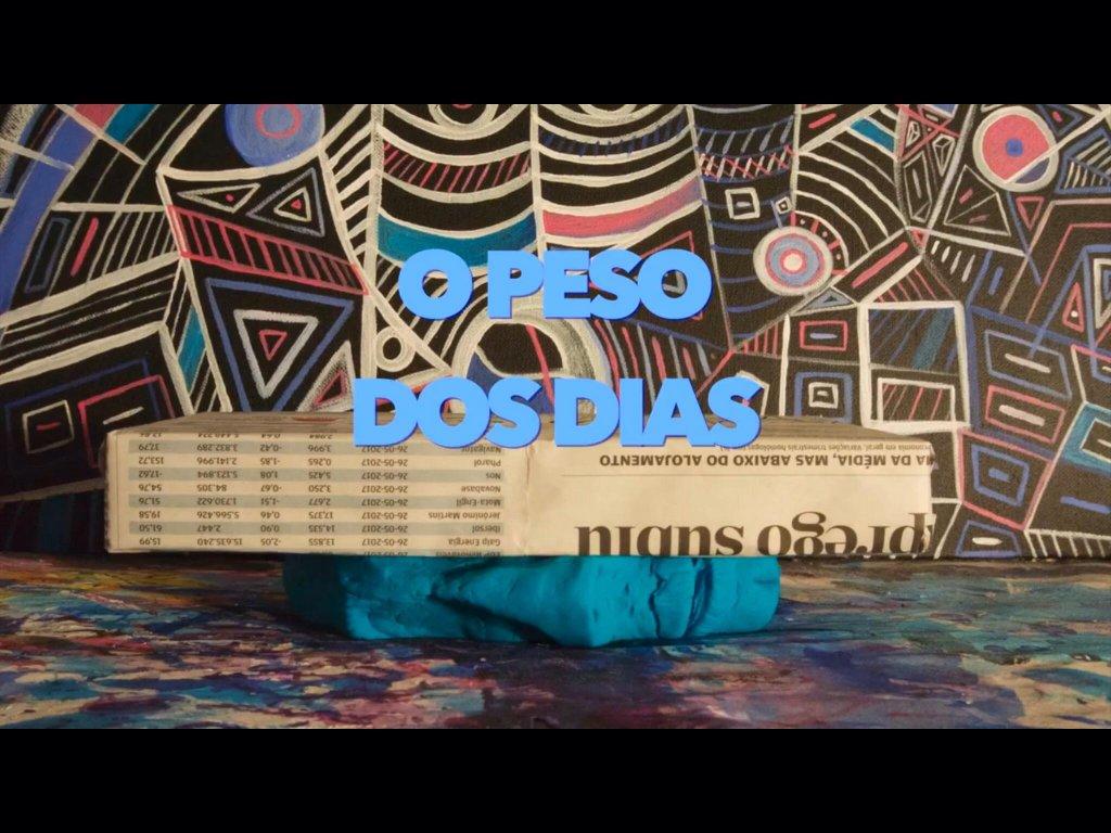 """Júlio F. R. Costa e a sua obra """"o Peso dos Dias"""""""