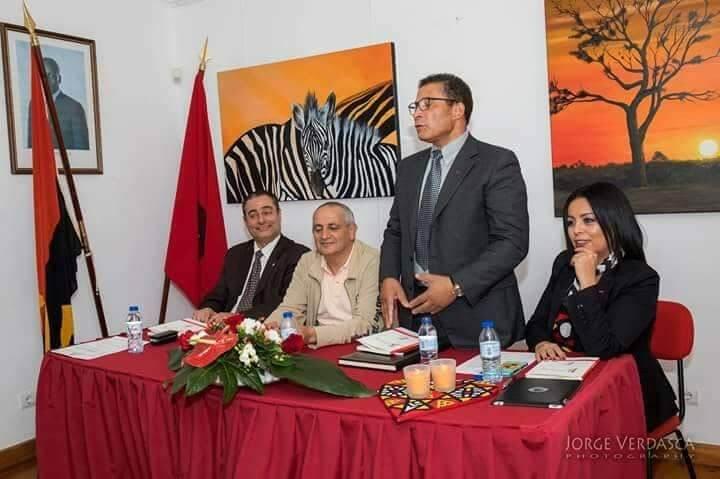 A Casa de Angola, no intercâmbio ser um polo, que os representantes do governo de Angola e de Portugal