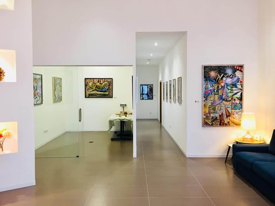 Exposição Distorções de Nuno Confraria, na Nimba Art Gallery de Luís Vicente