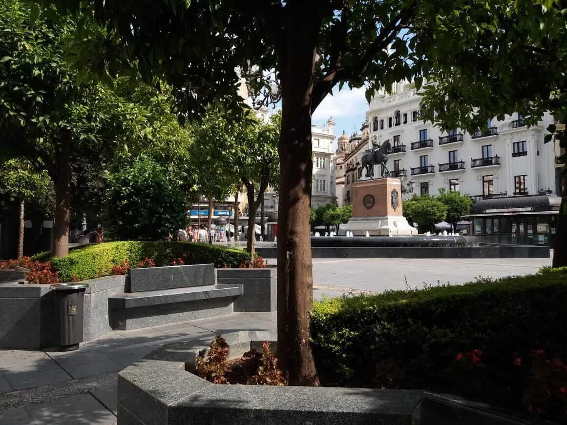Córdoba - Plaza de las Tendillas
