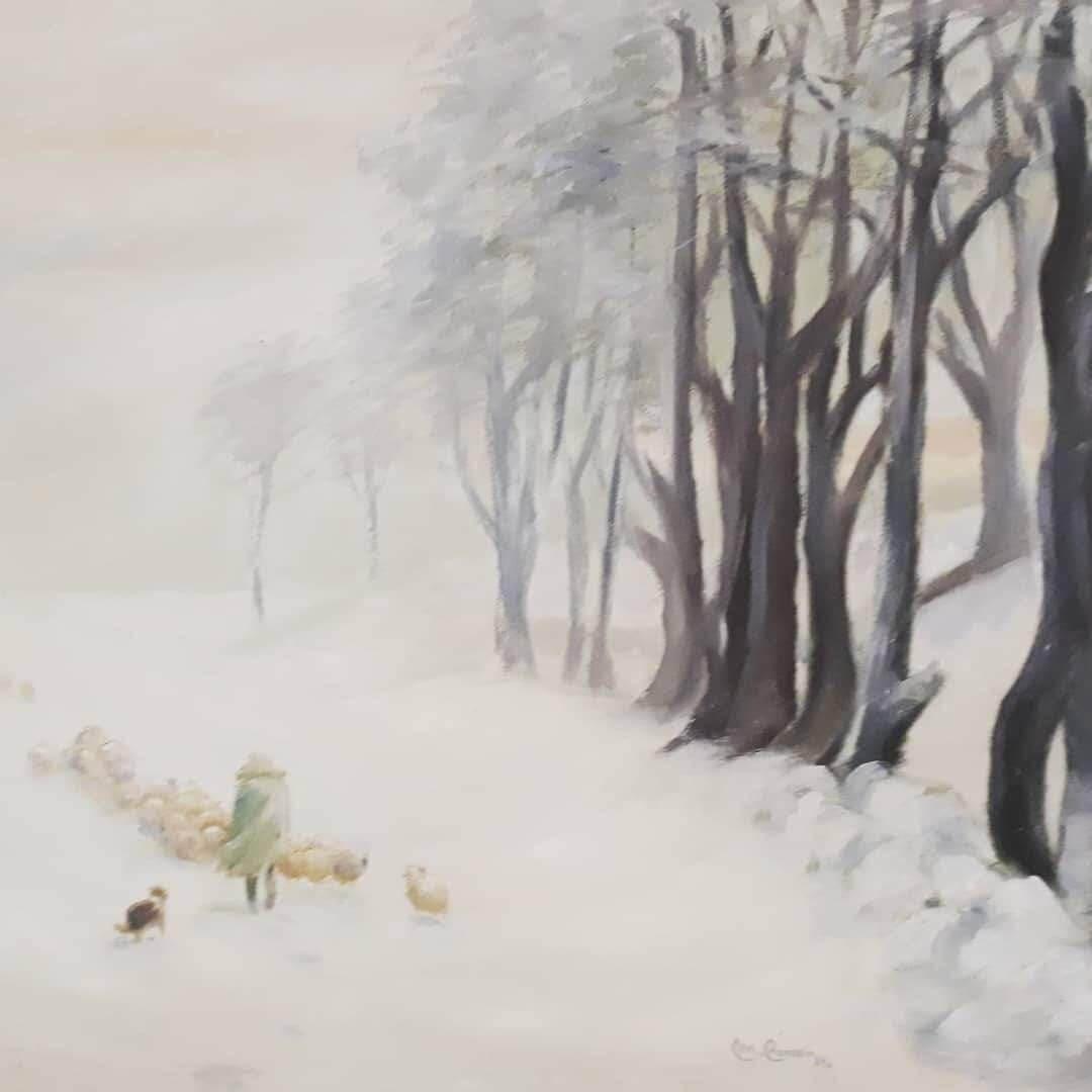 Obra de Manuela Correia Brito - O pastor