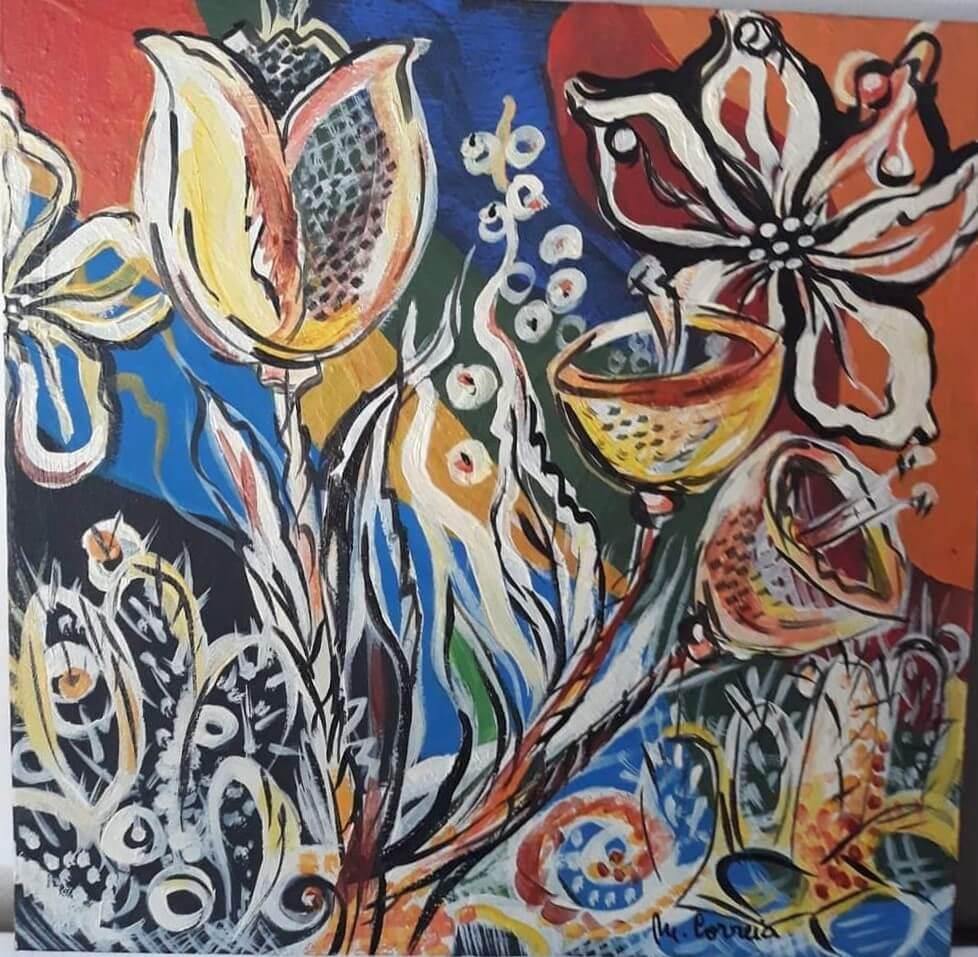 Obra da artista Manuela Correia Brito