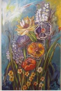 Floral-sobre-tela