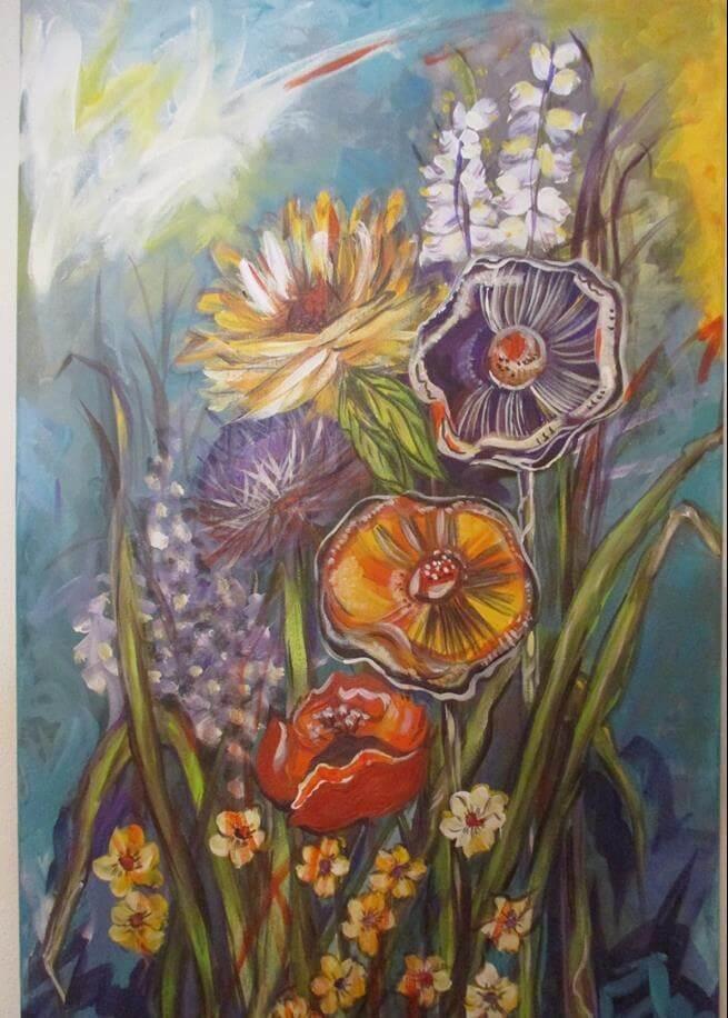 a arte e a primavera