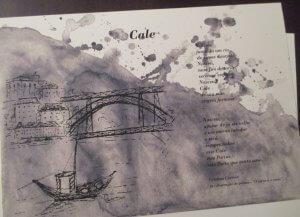 Ilustração do poema Cale