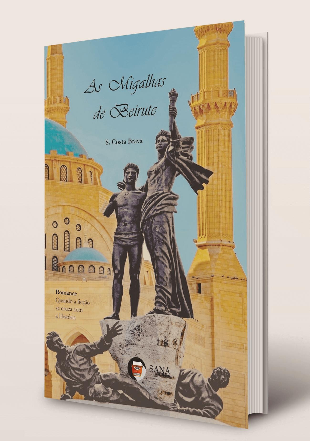 """""""As Migalhas de Beirute"""" de Sofia Cortereal"""