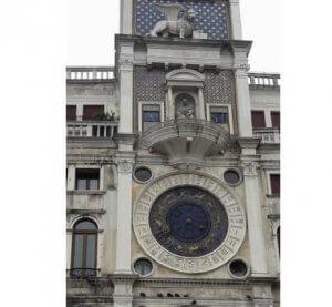 Torre do Relógio Praça São Marcos - Veneza