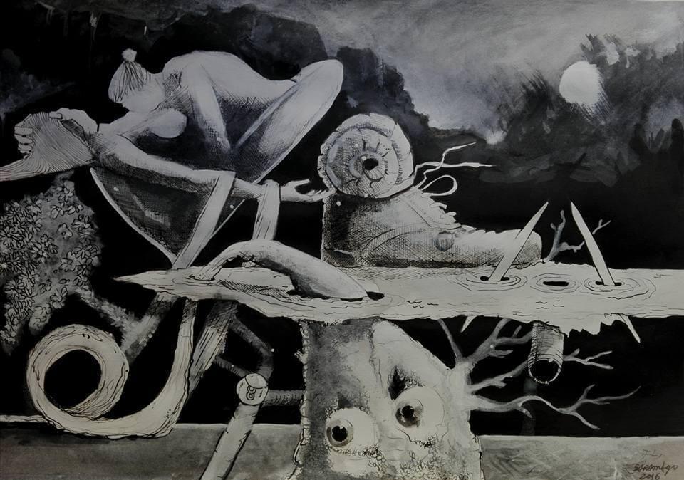 Detalhes da obra A man can be an island de Carlos Saramago