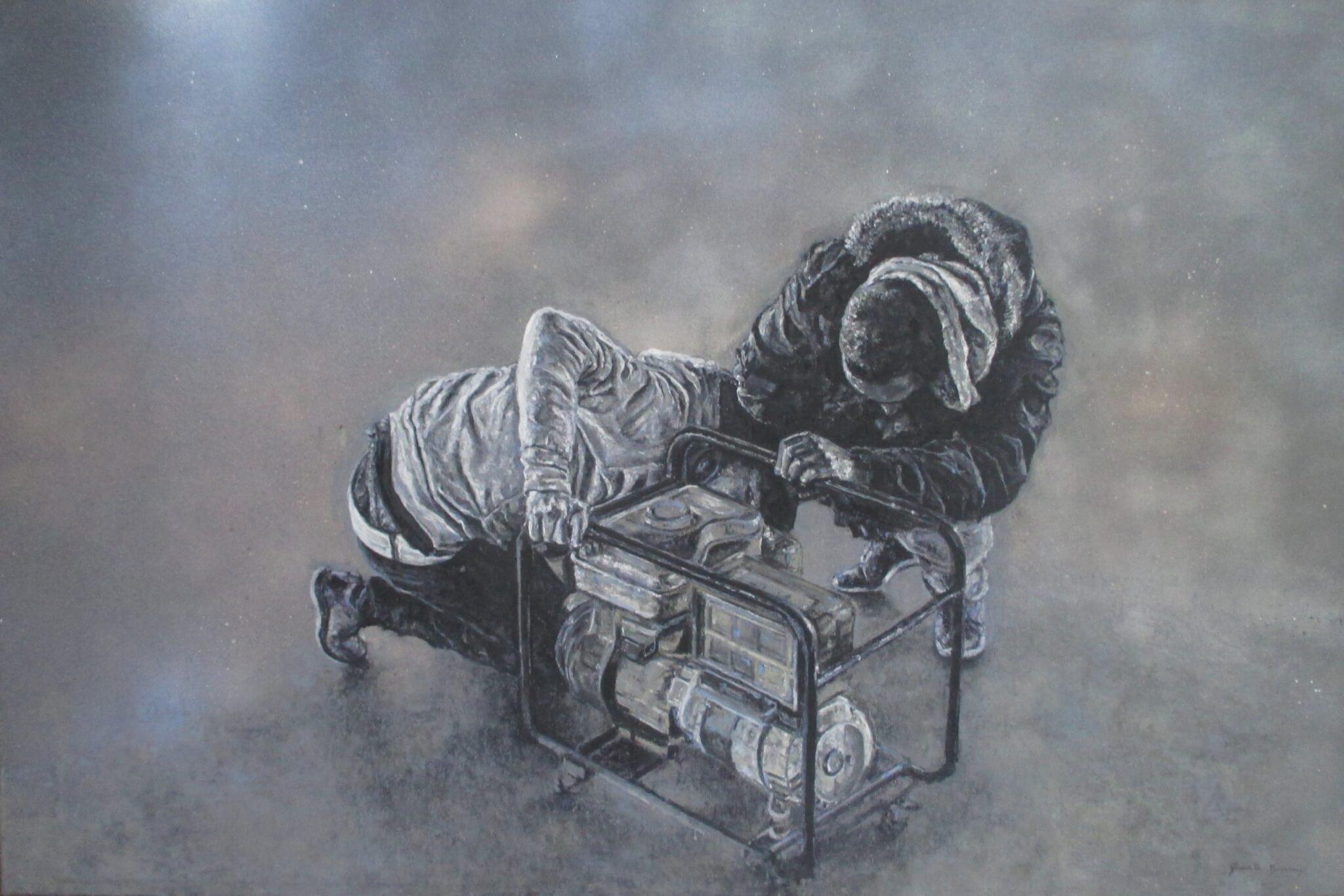 Obra de Duarte Burnay um jovem artista