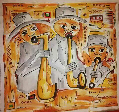 O Jazz é o título da obra de Badiatu David