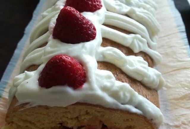 Torta de Morangos, receitas hucilluc