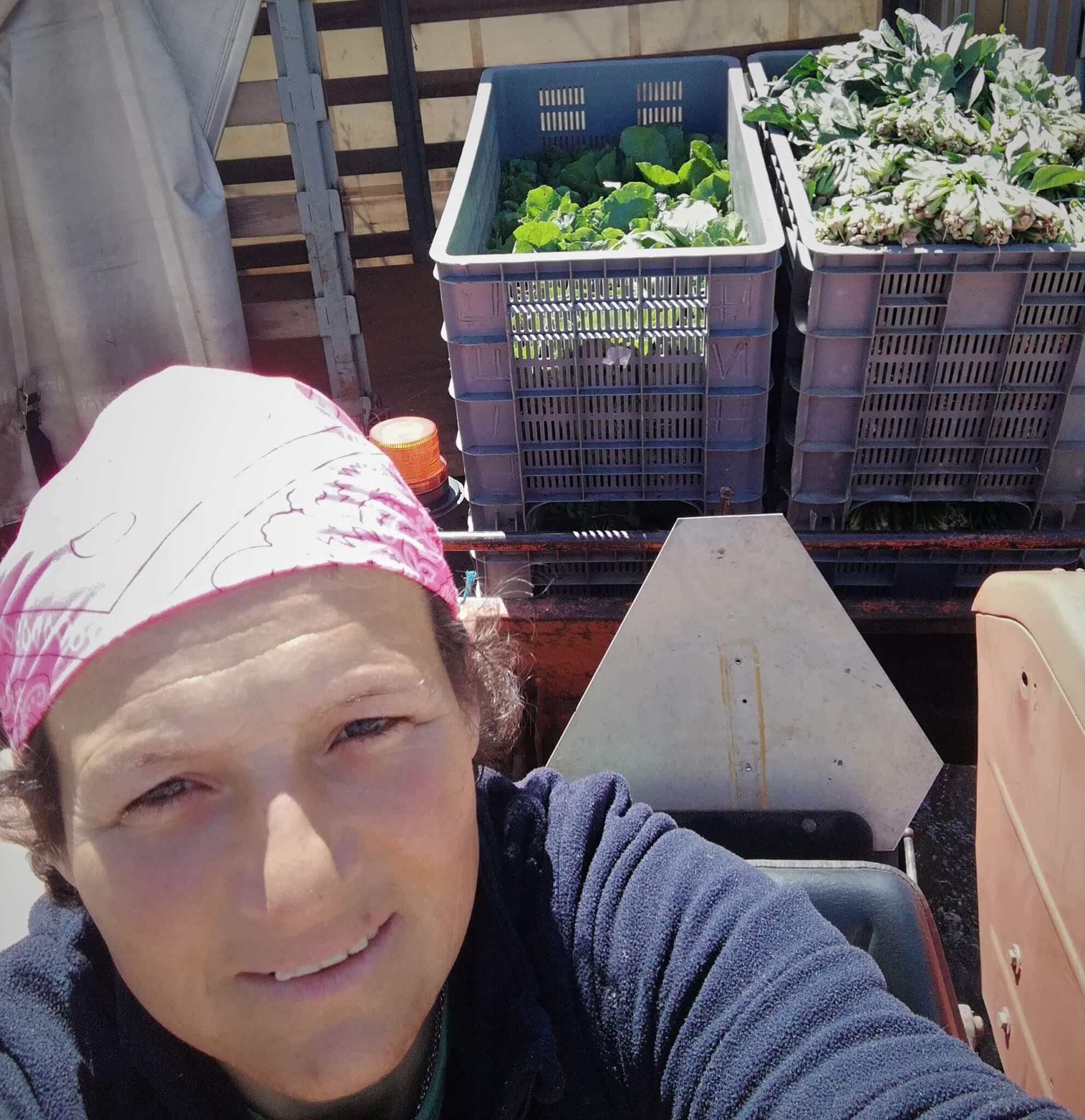 Ana a jovem agricultora