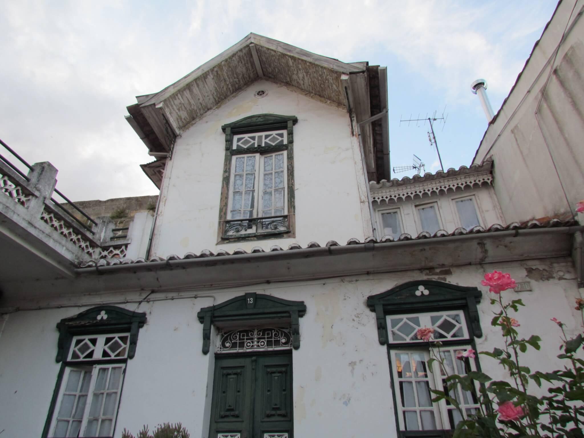 As casas e as janelas