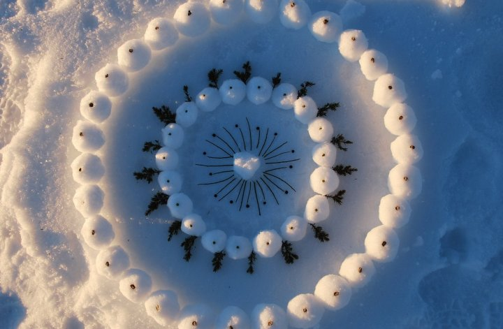 snow white mandala