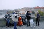 Músicos na rua