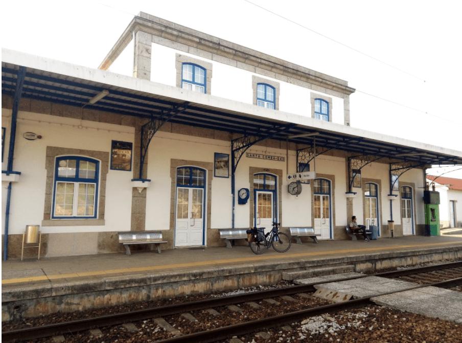 Estação comboio Santa Comba