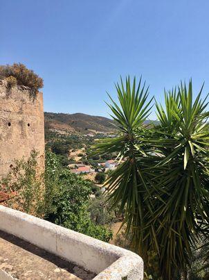 Vista panorâmica do castelo de Salir