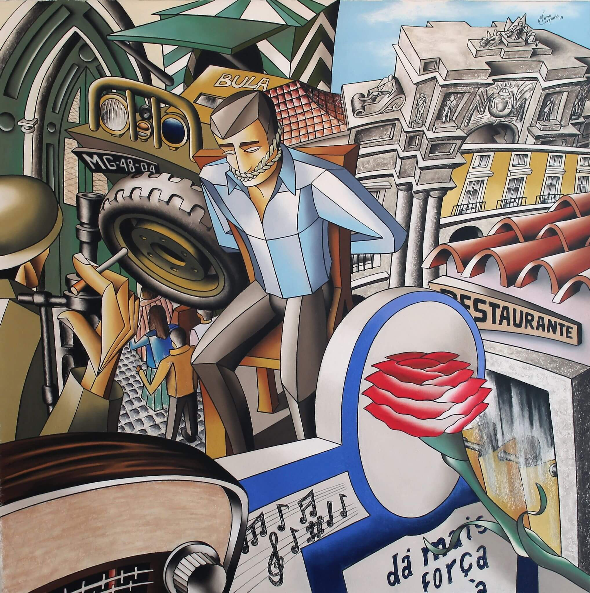 25 de Abril -A liberdade criativa de Nuno Confraria