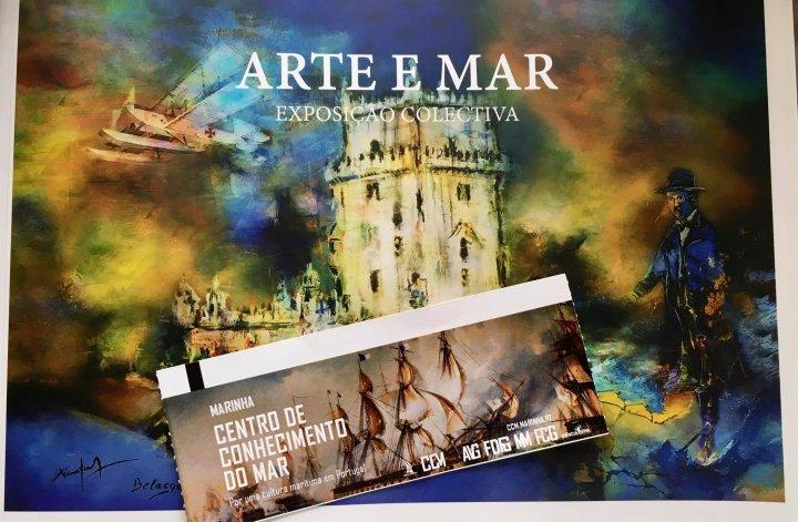 Exposição Arte e Mar